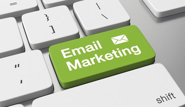 Concept de marketing par e-mail