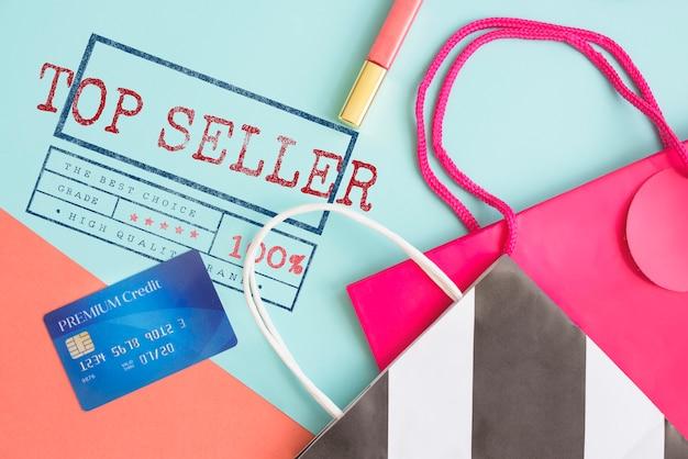 Concept de marque de haute qualité du meilleur vendeur