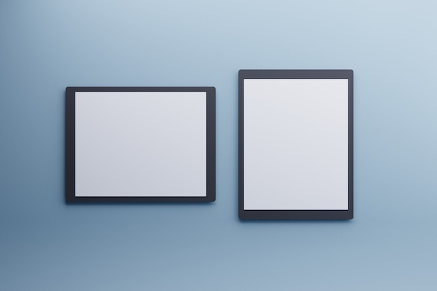 Concept moderne de produit de maquette de tablette d