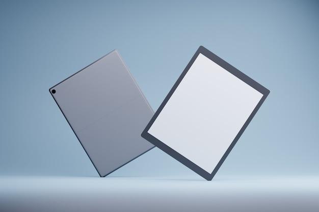 Concept moderne de produit de maquette de tablette