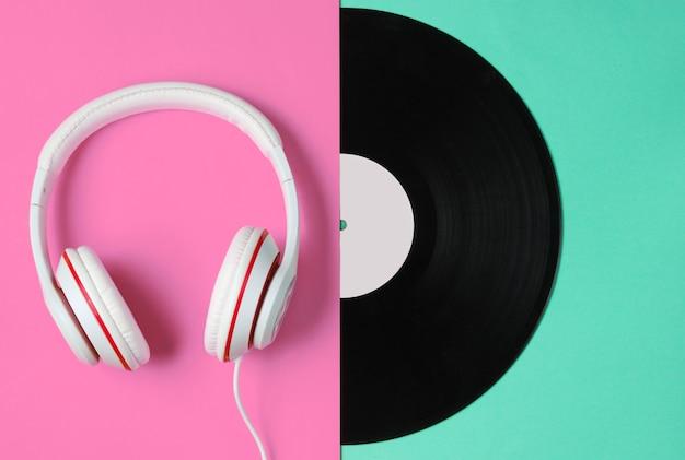Concept de musique de style rétro