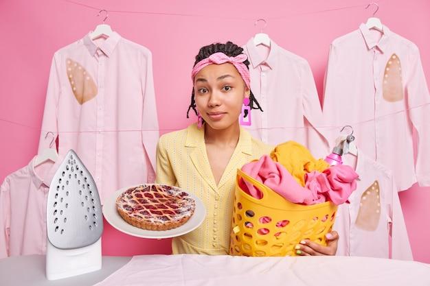 Concept de nettoyage et de cuisson
