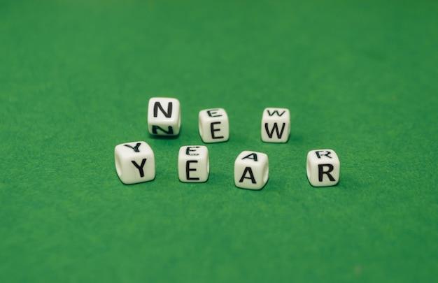 Concept de nouvel an