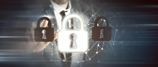 Concept numérique de code de données de sécurité