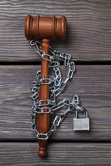 Concept d'obstruction de la loi et de la législation.