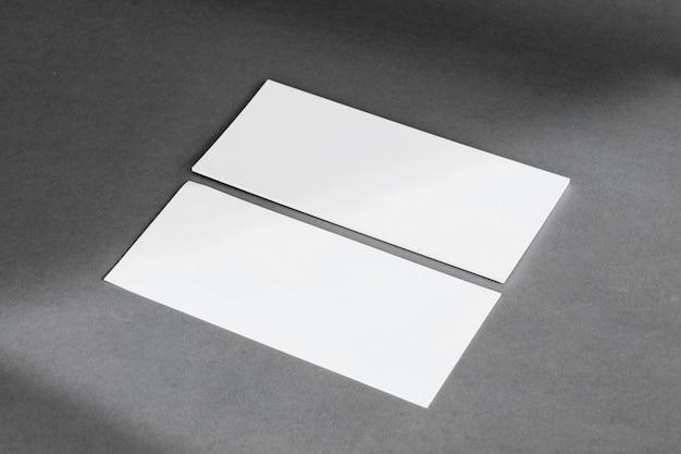 Concept de papeterie avec des bannières