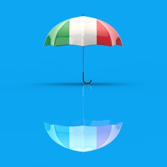 Concept de parapluie - illustration 3d