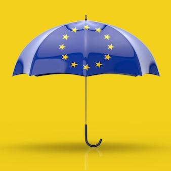 Concept de parapluie - illustration 3d