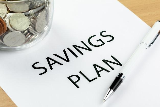 Concept de pension. plans de retraite.