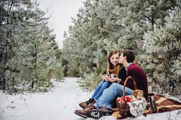 Concept de personnes, saison, amour et loisirs