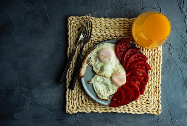 Concept de petit déjeuner continental
