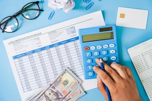 Concept de planification financière personnelle.