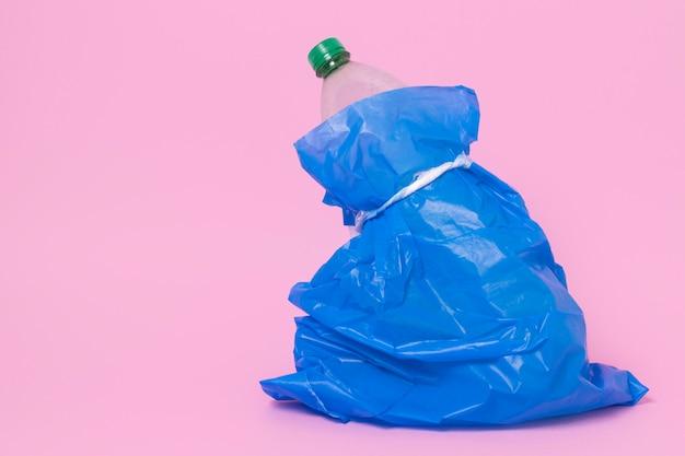 Concept de pollution des déchets plastiques