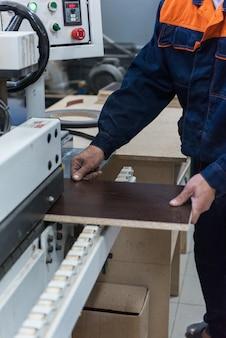 Concept de production de meubles