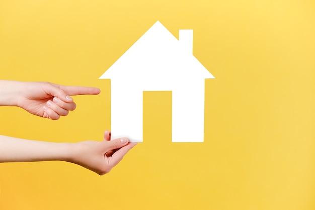 Concept de propriété et d'hypothèque