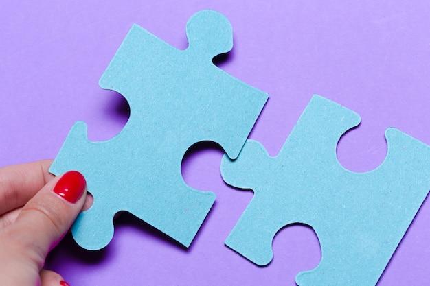 Concept de puzzle