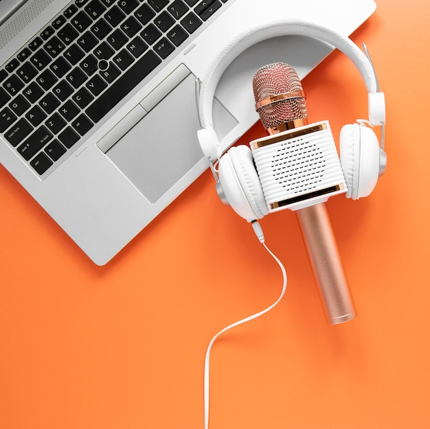 Concept radio avec microphone