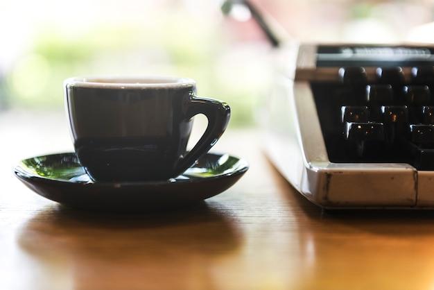 Concept de rafraîchissements coffe cup energy