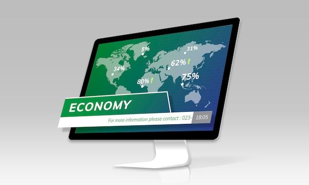 Concept de rapport d'actualités financières