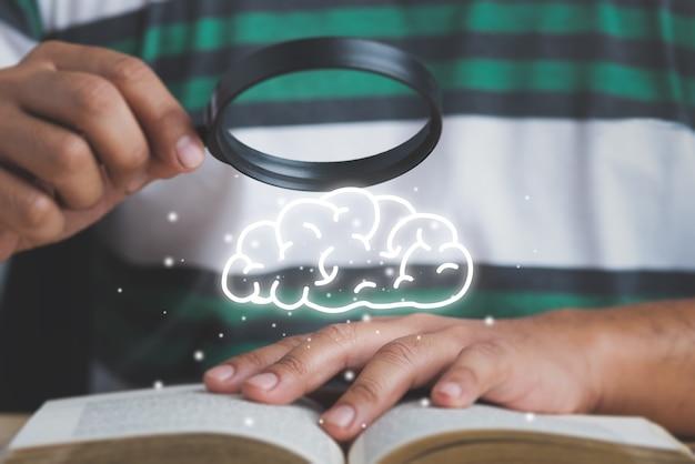 Concept de recherche et d'apprentissage