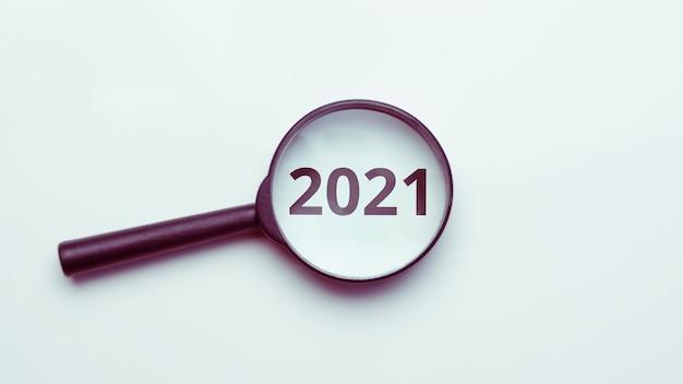 Concept de recherche d'emploi, opportunités en 2021.