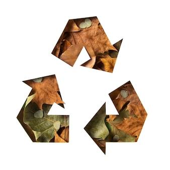 Concept de recyclage écologique