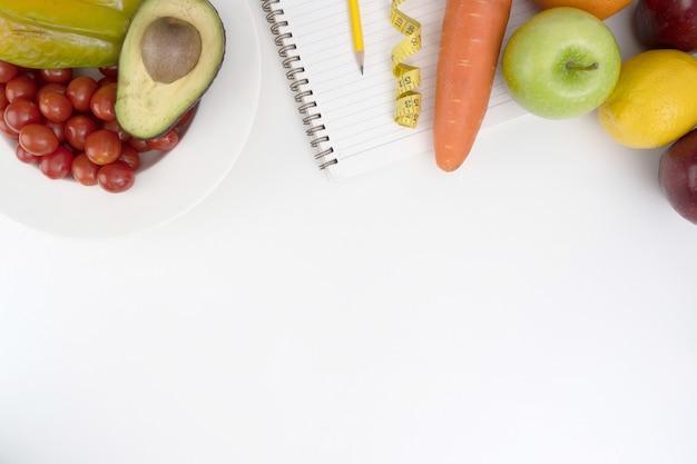 Concept de régime de cholestérol