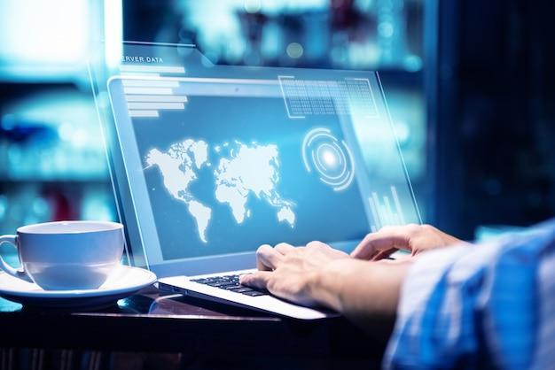 Concept de règlement général de protection des données (gdpr)
