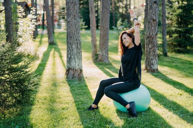 Concept de remise en forme, sport et mode de vie sain