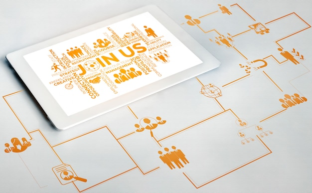 Concept de réseau de ressources humaines et de personnes