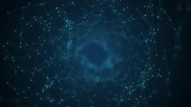 Concept de réseau technologique.