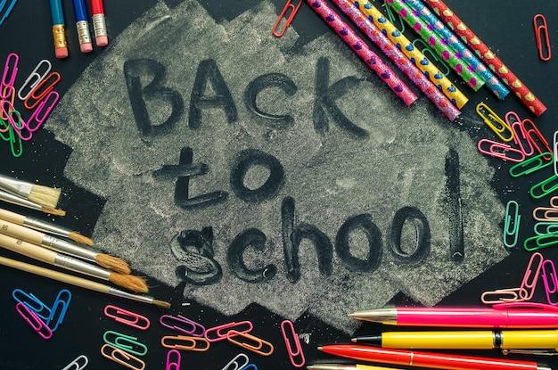 Concept de retour à l'école