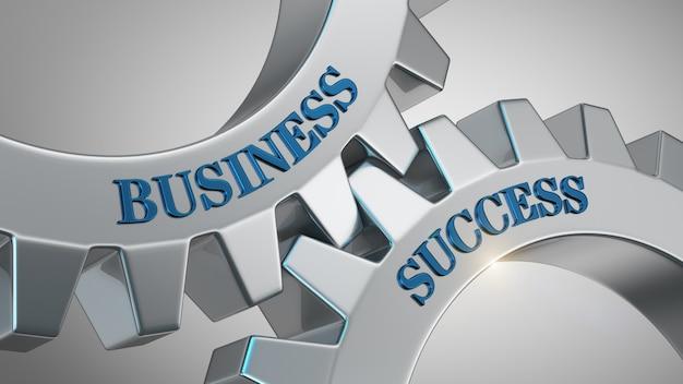 Concept de réussite commerciale