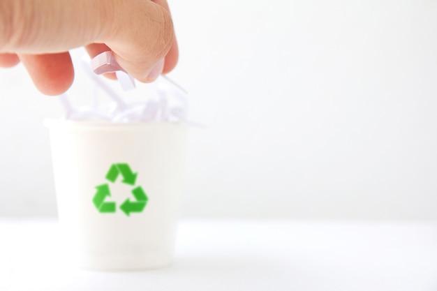 Concept de réutilisation du papier