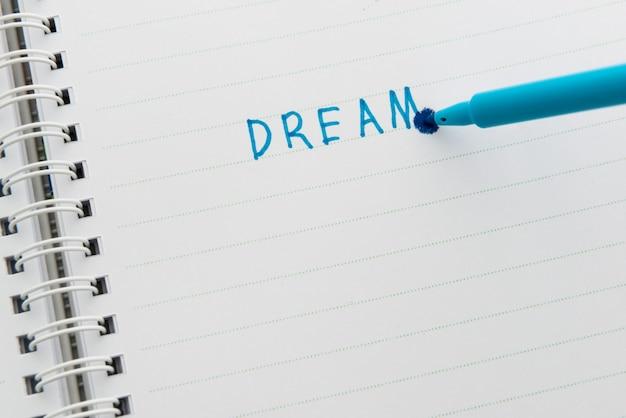 Concept de rêve
