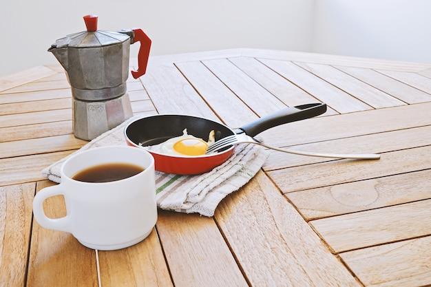 Concept de routine matinale