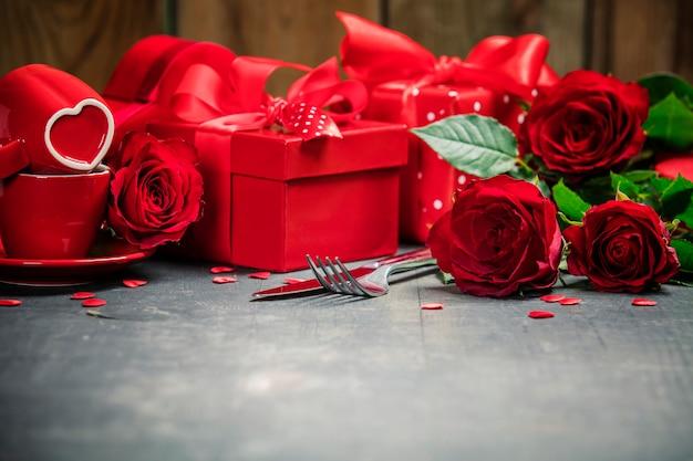 Concept de la saint-valentin
