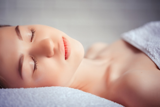 Concept santé, beauté, resort et détente