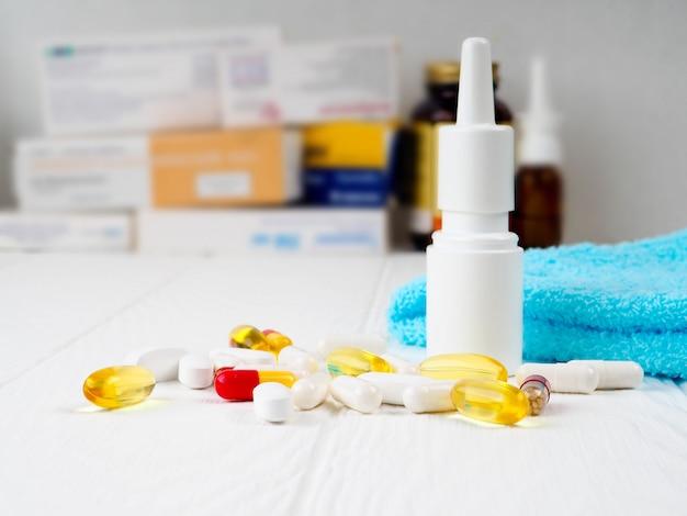 Concept santé, médecine et médicaments