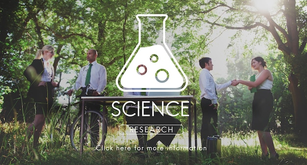 Concept scientifique de biochimie génétique