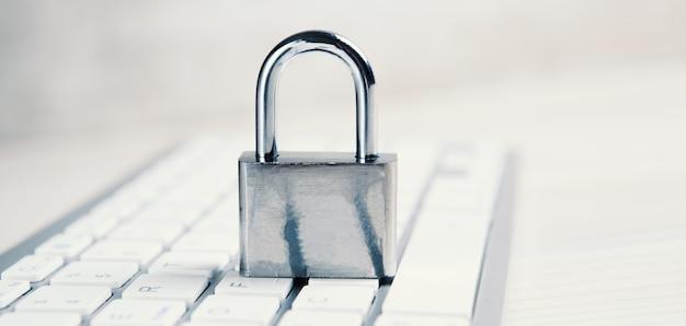 Concept de sécurité internet et informatique.