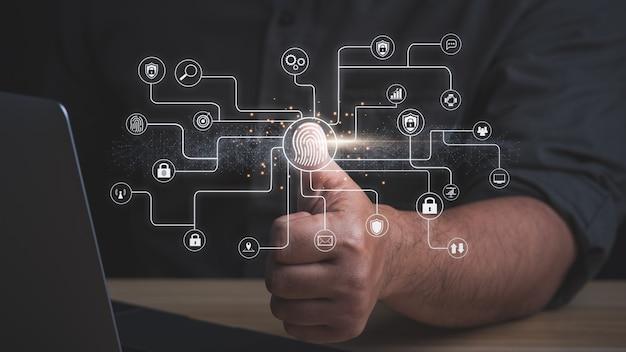 Concept de sécurité numérique s