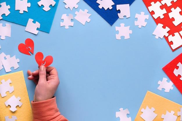 Concept de sensibilisation à l'autisme.
