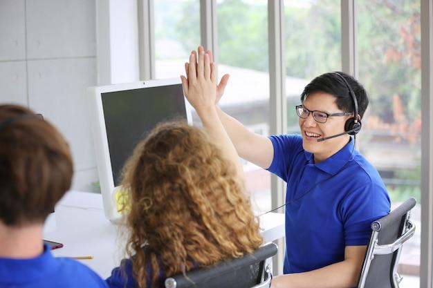 Concept de service de centre d'appels