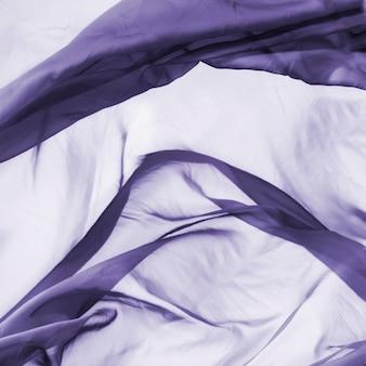Concept de soie élégant et abstrait