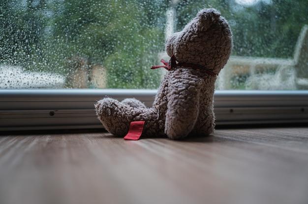 Concept de solitude et d'abandon