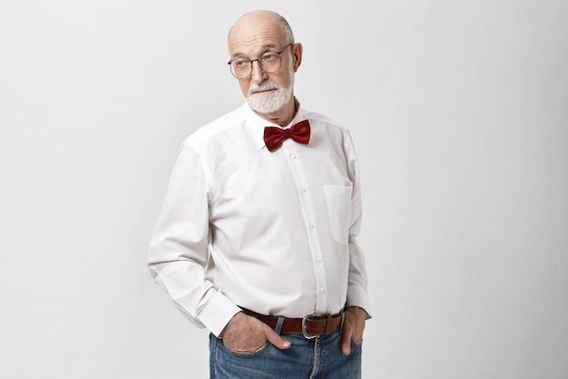 Concept de style, mode, vieillissement et élégance.