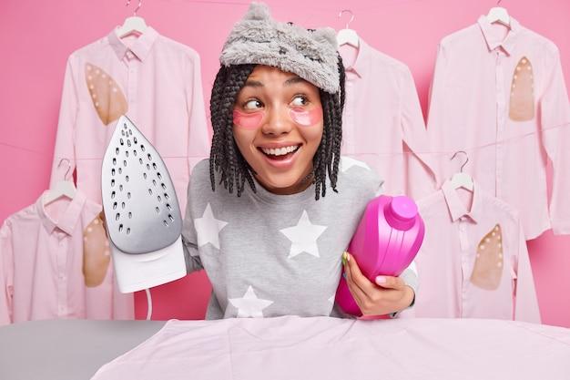 Concept de tâches ménagères