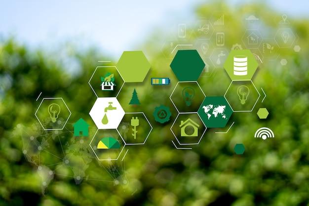 Concept de technologie agricole homme agronome à l'aide d'une tablette