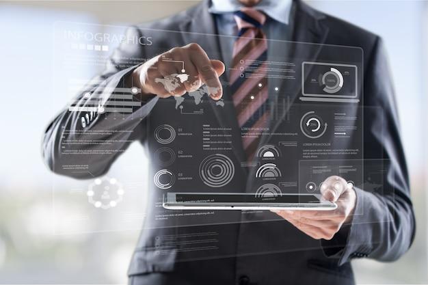 Concept de technologie d'entreprise de politique de réglementation de loi de règles de conformité